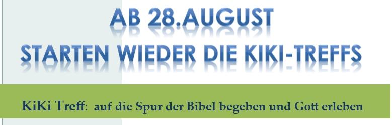 KiKi Treff: auf die Spur der Bibel begeben und Gott erleben