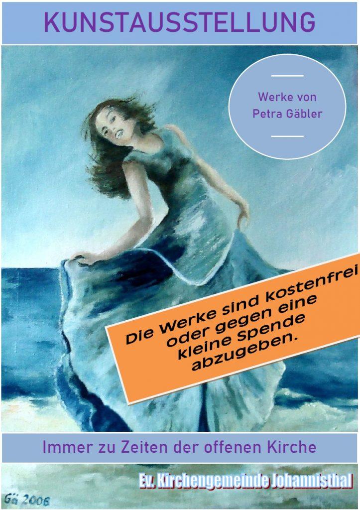KUNSTAUSSTELLUNG Werke von Petra Gäbler Immer zu Zeiten der offenen Kirche