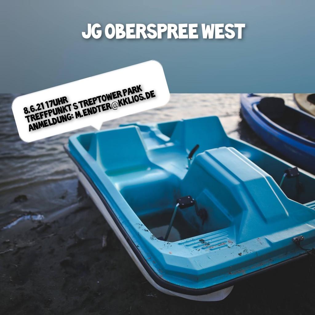 8.6.2021 17 Uhr - JG Oberspree West - Treffpunkt S Treptower Park